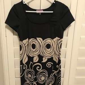 Vivienne Tam Black Mini Dress